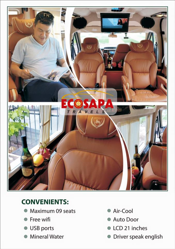 BUS HA NOI - SAPA ( BY LIMOUSINE 8 SEATS )