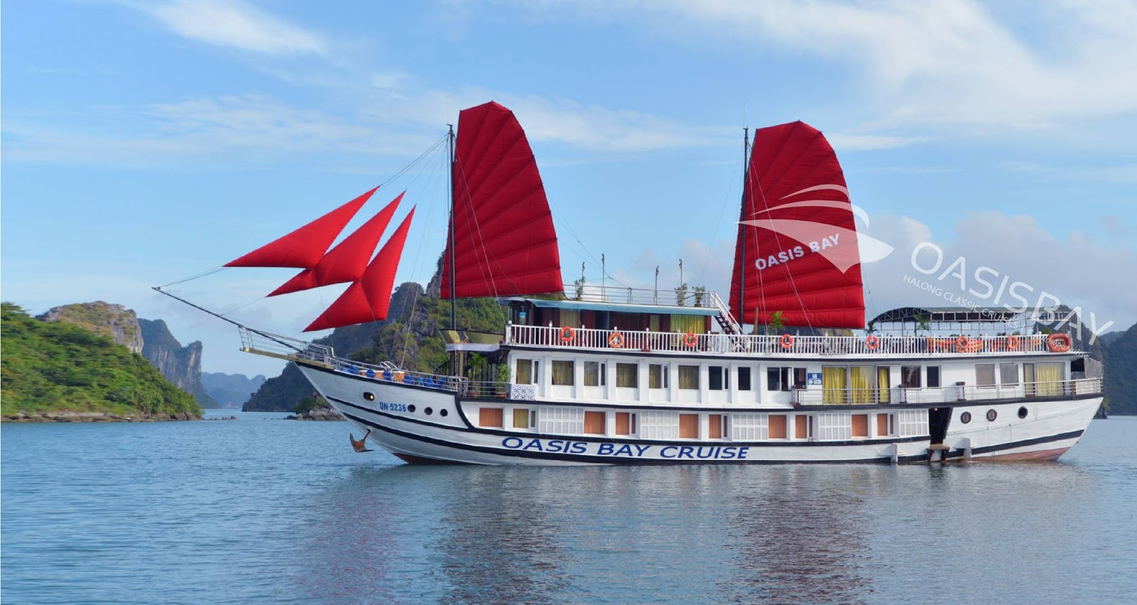 Ha Long bay 3 days - 2 night experience on Osis bay cruise and Bungalow on freedom island